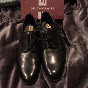 Bruno magi men's leather lace ups shoes